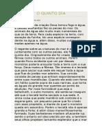 7 - O QUINTO DIA