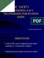 Pic16f873 - Conversion Ad y Transmision Por Puerto Serie