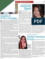 Perfil Glorimar Ripoll - Suplemento de Madres Empresarias Periodico CREECE en tu Negocio
