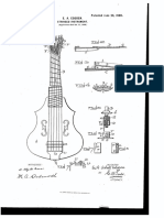 US Patent 652353 for a Stringed Instrument from 1900