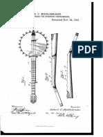 US463954 Finger Board for Stringed Instruments 1891