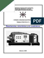 T.P.nº 6 ME II - Reactancias, Sincrónica y en Cudratura