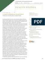 Comunicación Política_ La Opinión Teledirigida Por Giovanni Sartori