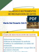 7.Recoleccion de Datos