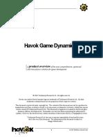Havok Overview