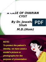 A Case of Ovarian Cyst
