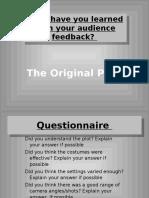 Media PowerPoint Evaluation