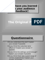 media evaluation  powerpoint