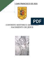 Contexto Historico Antes Del Nacimiento de Jesus