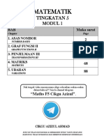 Buku Matematik f5 Modul 1 2016