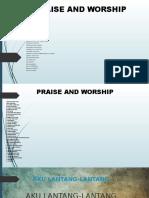 Lagu-lagu Praise &Worship