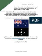 Royal and Free Australians Full Orbat Updated January 27 2016
