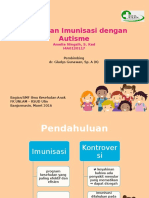 Hubungan Imunisasi Dengan Autisme