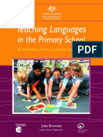languages literacy in primary schools