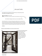 Art Deco, Art Nouveau, Arts and Crafts_ What's the Difference