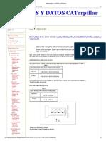 Manuales y Datos Caterpillar 3054 c