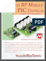 Wireless RF Module Using PIC Controler