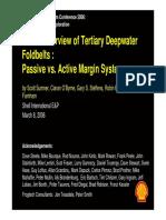 Global Deepwater Fold Blet Passive vs Active Shell