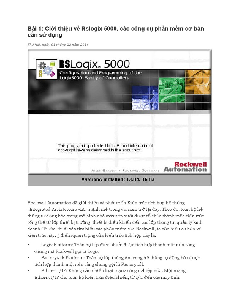 Huong Dan Su Dung RSlogix 5000 Tieng Viet pdf