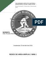 Redes de área metropolitana y Redes de Area Amplea (2)