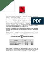 Nota de Prensa III Estudio Arequipa CAPECO