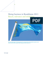 Doing Business in KZ_2013
