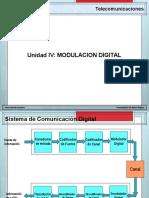 Unidad IV Modulacion Digital