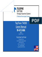 M-412-066 T4000 Users Manual English Rev A