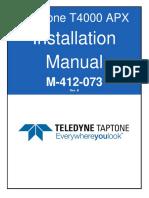 M-412-073 Rev B T4000 APX Setup Manual