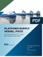 Platform Supply Vessel ULSTEIN PX121