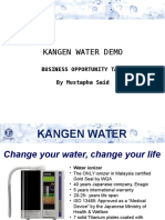 Kangen Water Presentation