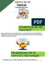 Ppt Didacticas de Las Ciencias