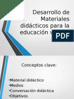 Desarrollo de Materiales Didácticos Para La Educación Virtual