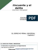 Derecho Penal i - Material Del Curso 1er Parcial