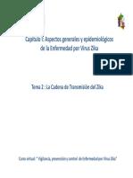 Cap i Tema II Cadena de Transmision Del Zika Rev