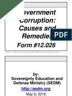 Government Corruption
