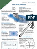 MeasurIT Verabar Application Duct Air Flow 0808