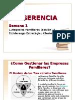 1. Empresas Familiares y Liderazgo Estrategico Semana 1
