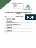 310318773 Daftar Kasus Gawat Darurat Pemurus Dalam