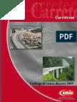 Costos Directos Carreteras 2009 CMIC