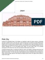 Jaipur Tourism, City Guide, Jaipur Travel Guide _ Tourism Infopedia