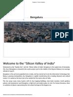 Bengaluru _ Tourism Infopedia