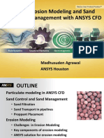 Erosion Modeling and Sand Management With Ansys Cfd