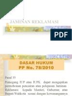 JAMINAN REKLAMASI14