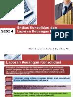 Entitas Konsolidasi dan Laporan Keuangan Konsolidasi