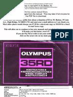 Olympus 35rd