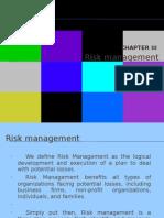 Chapter 3 Risk Management