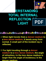 UNDERSTANDING TOTAL INTERNAL REFLECTION OF LIGHT.ppt