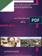 Autoecologia, Sinecologia , F.bioticos,Abioticos