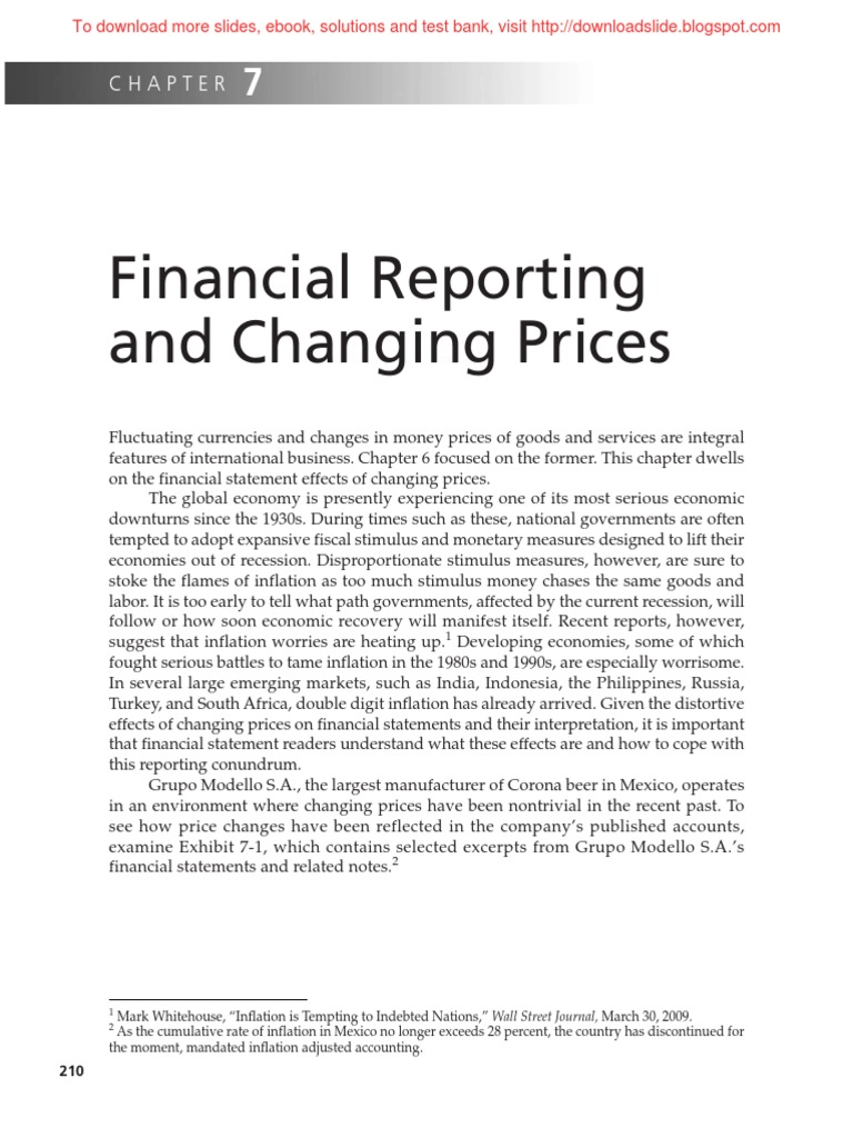 Chapter 7 financial reporting and changing pricespdf purchasing chapter 7 financial reporting and changing pricespdf purchasing power parity historical cost fandeluxe Gallery